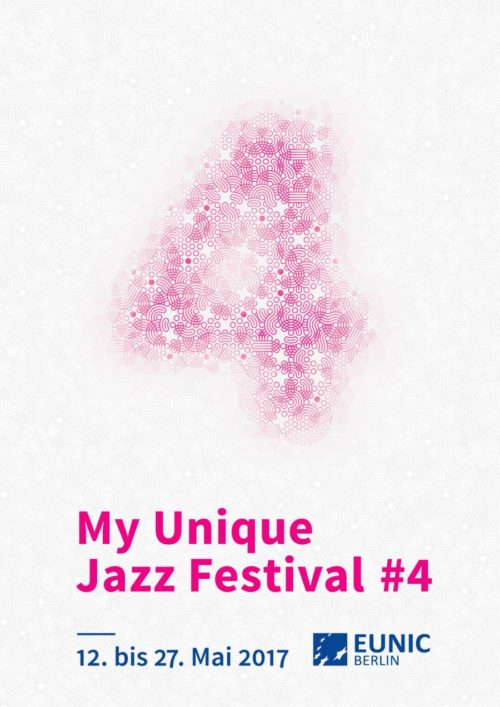 My unique jazz festival poster