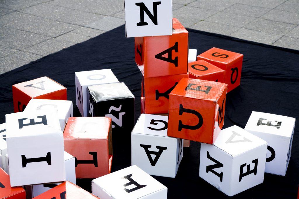 Riesen Scrabbel